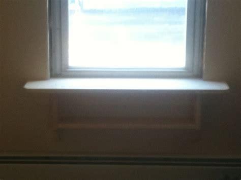 Window Sill Shelf What To Put On The Shelf The Wide Window Sill