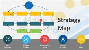 powerpoint map template strategy map templates editable powerpoint