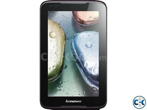 Lenovo Tab A1000 Gsm lenovo idea tab a1000 tablet black 4 gb wi fi one sim clickbd