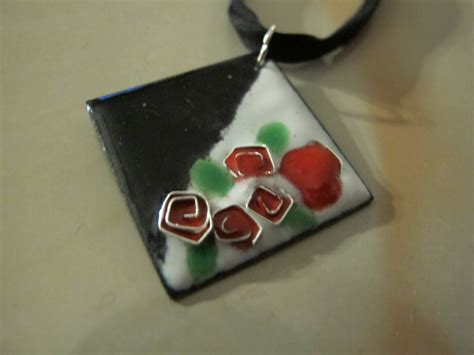 Enameled Jewelry Handmade - s designs handmade wire jewelry enamel