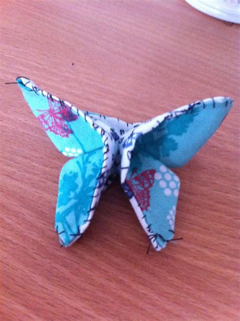 Origami With Fabric - fabric origami butterfly fabric manipulation origami