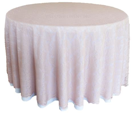 blush pink lace table overlays lace tablecloths