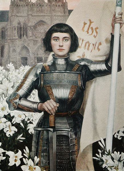 joan of arc 10 most gorgeous paintings of joan of arc