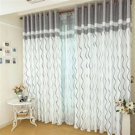 grey and white horizontal striped curtains gray and white striped curtains teawing co