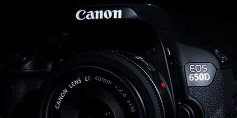 Pasaran Kamera Canon 600d canon eos 650d dslr berbekal layar sentuh putar seputar