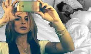 Lindsay Lohans A Firecracker In Bed by Lindsay Lohan Shares A Racy Bedtime Photo On Instagram In