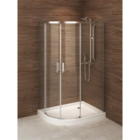 48 Corner Shower Stall A E Bath And Shower Madrid 48 Quot X 36 Quot X 77 Quot Sliding Shower
