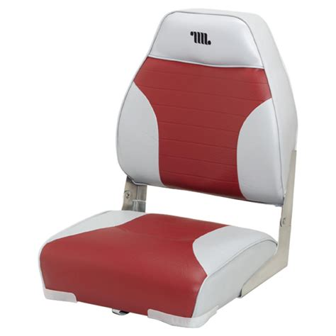red fishing boat seats wise premium folding fishing boat seat 96417 fold down