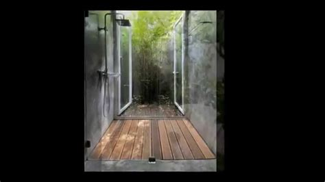 outdoor bathroom ideas indoor garden and outdoor bathroom ideas youtube