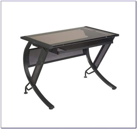 staples glass computer desk staples black glass computer desk desk home design
