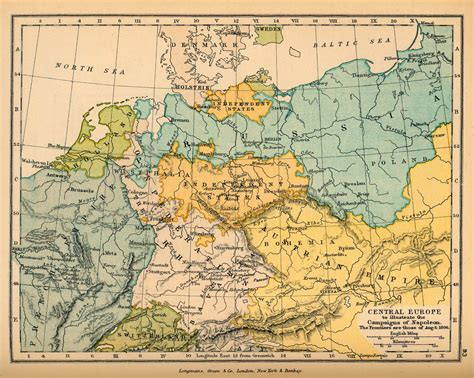 central europe map schools historical atlas by c colbeck perry