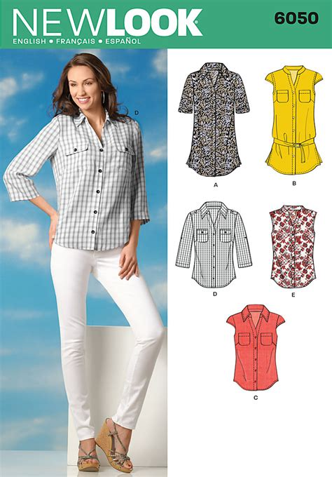 pattern review new look 6940 new look 6050 misses tops sewing pattern