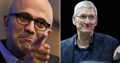 for the 1st time in 8 years microsoft beats apple to