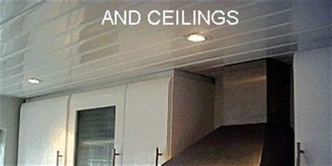 Ceiling Cladding Kitchen by Kitchen Wall Cladding Easy To Install Wipe Panels