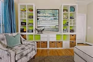Charming Bath Decor Ideas #2: Eclectic-family-room.jpg