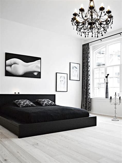Bedroom Decor Black And White Black And White Bedroom Interior Design Ideas