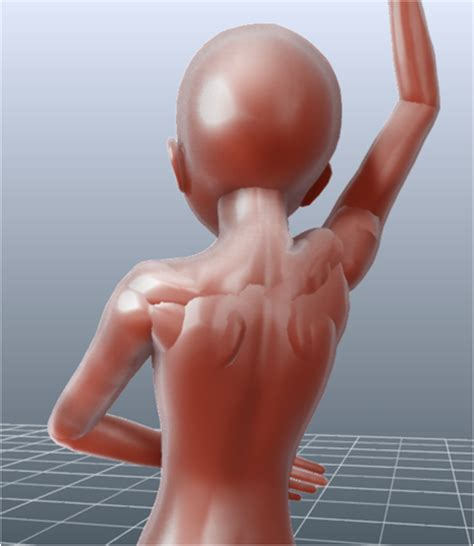 design doll male model in which digits talks about animation