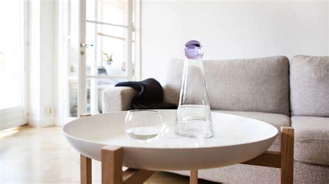 design house stockholm uk fia carafe 1 l clear black by design house stockholm