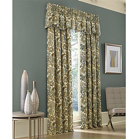 j queen valdosta shower curtain buy j queen new york valdosta 95 inch window curtain