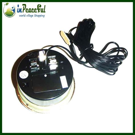 lada led batteria free shipping lada car digital auto car thermometer car