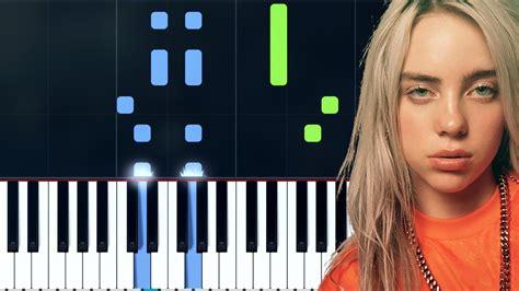 billie eilish party favor chords billie eilish quot party favor quot piano tutorial chords
