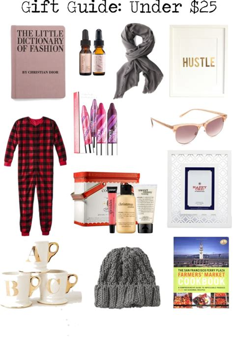holiday gift guide picks under 25 sanfranista