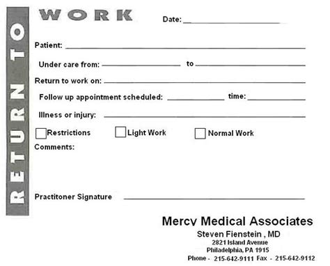 8 best images of blank printable doctor note pdf fake