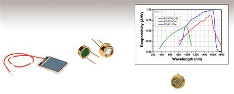 photodiode gaas calibrated photodiodes