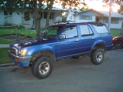1991 Toyota Lift Kit Quot New Quot 1991 4runner With Small Lift Kit Toyota 4runner