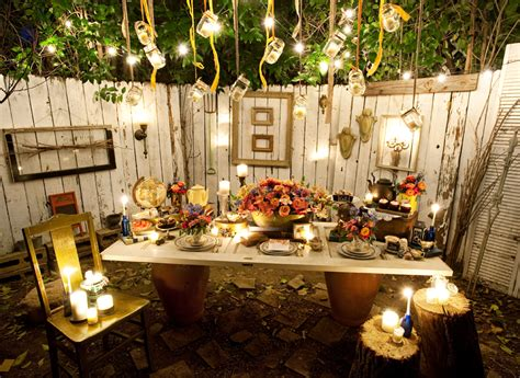 cool backyard party ideas sarah wilson if you could invite any ten people to a