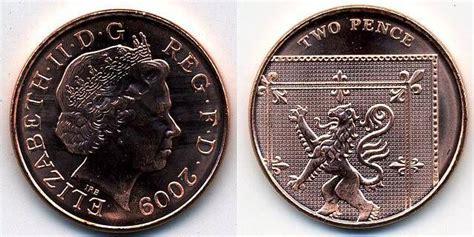 Koin Elizabeth Ll Dg Reg Fd uk decimal coins two pence