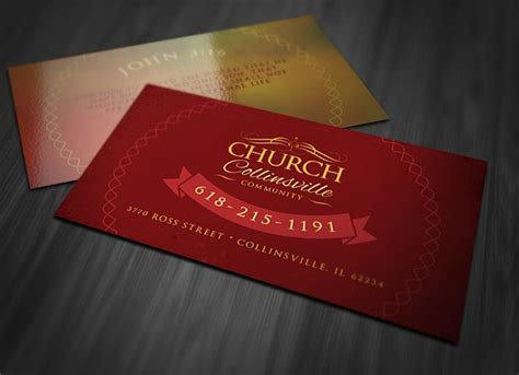 church business card templates free 25 excellent business card templates for your own use