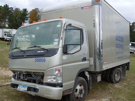 mitsubishi fuso box truck mitsubishi fuso fe 125 2008 box truck used busbee s