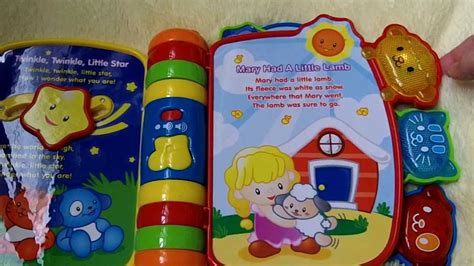 vtech rhyme  discover book youtube