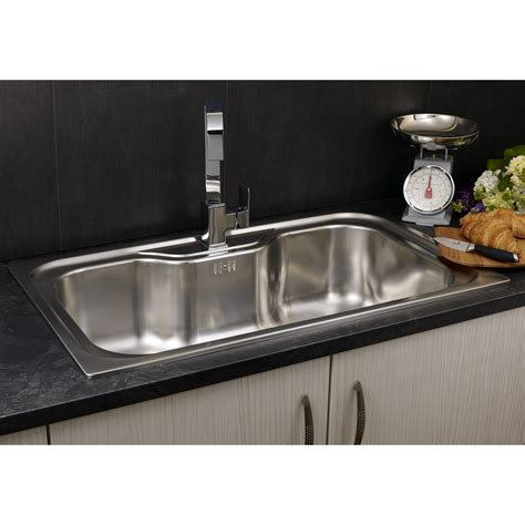 kitchen sinks uk reginox 86cm x 51cm single bowl kitchen sink reviews