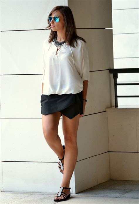 Black Origami Skirt - how to wear the skirt styles glam radar