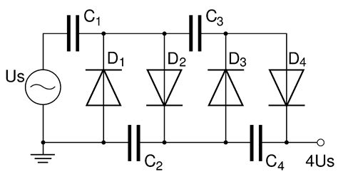 voltage multiplier capacitor size file voltage multiplier diagram png