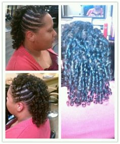 mohawk with flex rods hairstyles on pinterest braided mohawk mohawks and flat