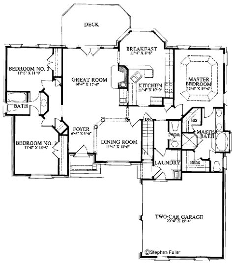 walkout basement floor plans craftsman style ranch with walkout basement hwbdo77120