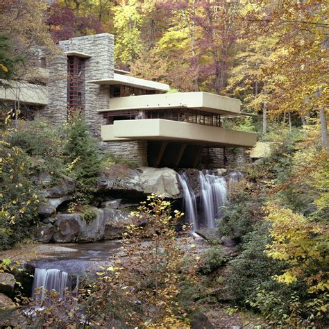 frank lloyd wright waterfall continuing our celebration of frank lloyd wright s 150th