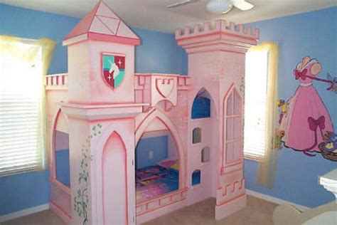 little girl beds princess bedrooms for little girls the castle shaped