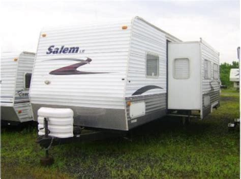 awning for slide out on rv salem by forest river 2007 le series m 27bhss 27 ft with