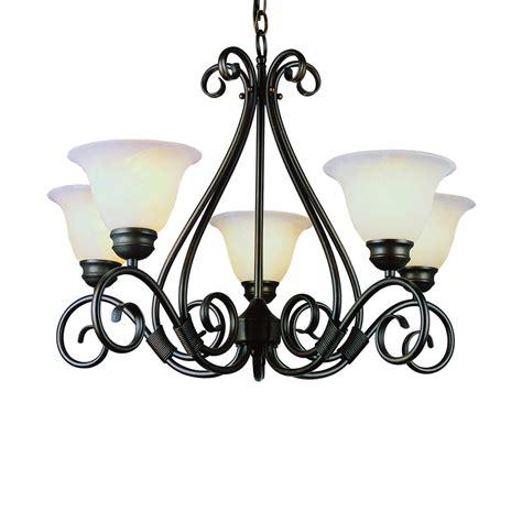 rubbed bronze chandelier shop bel air lighting new century 5 light rubbed bronze chandelier at lowes