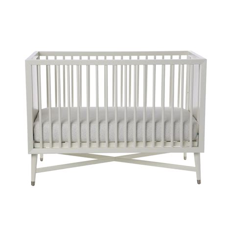 White Crib With Mattress Free Mattress With Dwellstudio Mid Century Crib In White Modernnursery