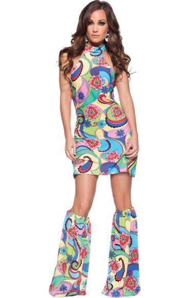 female  hippie costume disco costume hippie