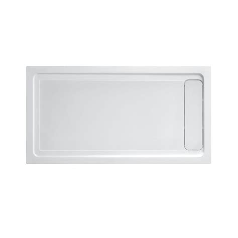 60 Shower Base by Dreamline Slimline 32 In X 60 In Single Threshold Shower