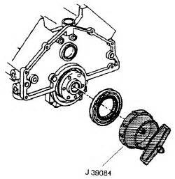 Fig fig 13 using tool j 39084 or equivalent drive the seal in