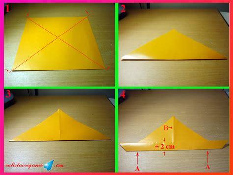 cara membuat origami arnab cara membuat origami kelinci origami binatang