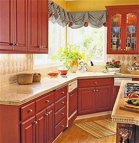 painting kitchen cabinets red modern furniture red kitchen decorating ideas 2012