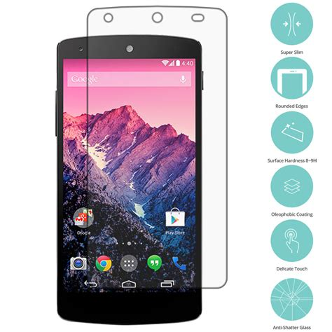 best nexus 5 screen protector 4x real premium tempered glass screen protector for
